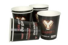 Custom printed paper cups