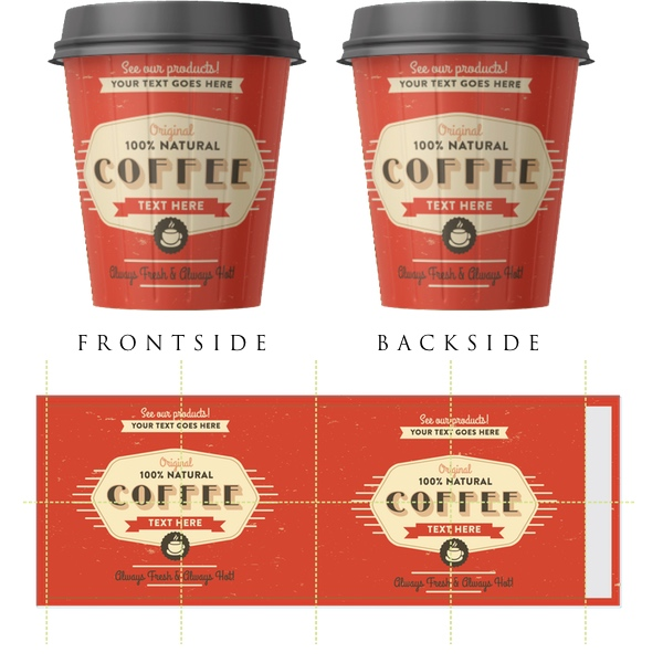 CUSTOM PRINTED PAPER CUPS | Product categories | UniCup